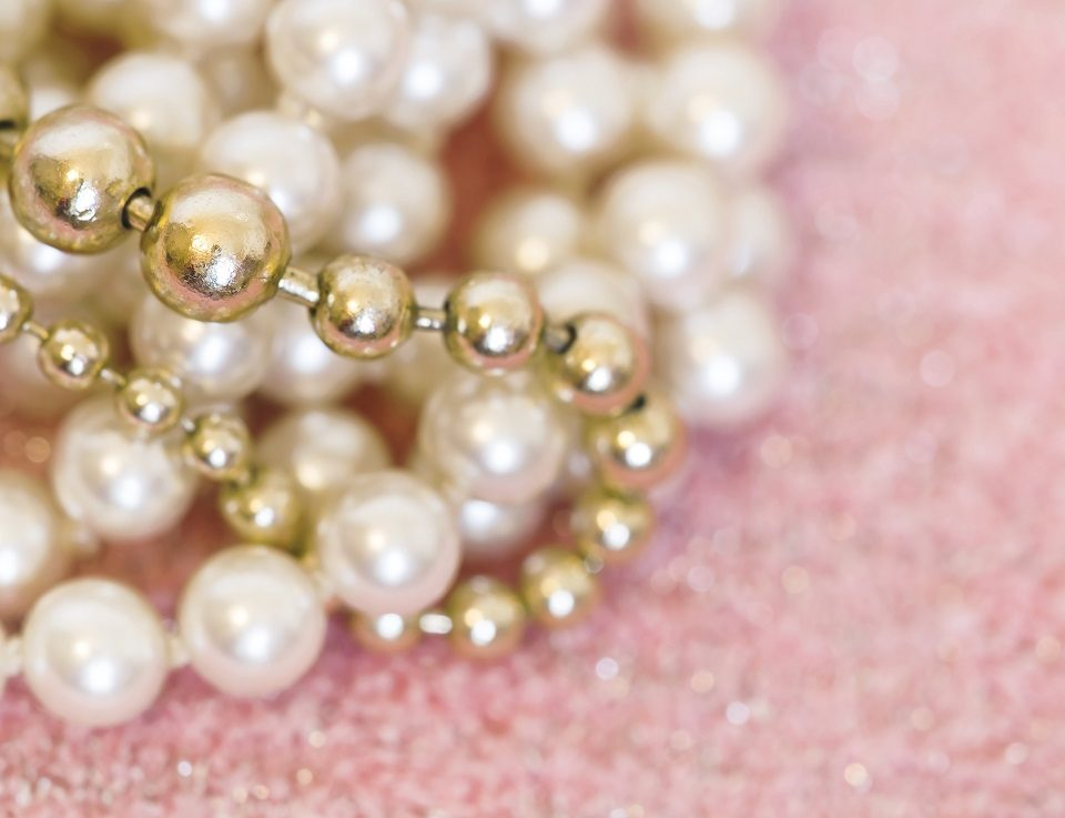 pendentif de perle culture